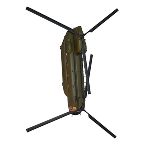 45 ID CH-47 Chinook Custom Aircratf Model  - View 5