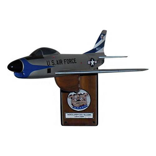 525 FS F-86 Custom Airplane Model