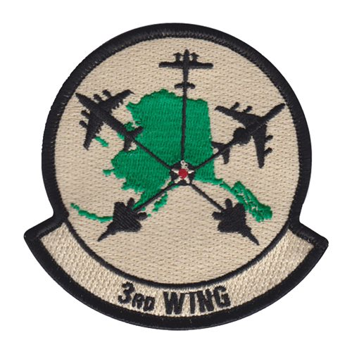 3 WG Aircraft Patch