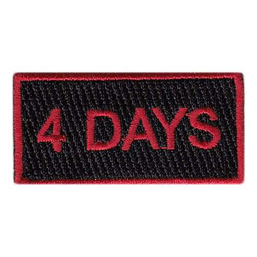 88 FTS 4 Days Pencil Patch