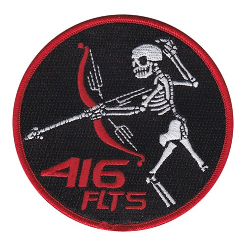 416 FLTS Skull Friday Patch