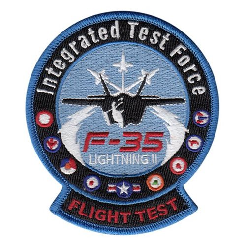 461 FLTS JSF ITF Flight Patches