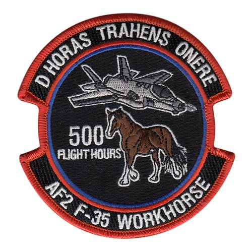 461 FLTS Workhorse Patch