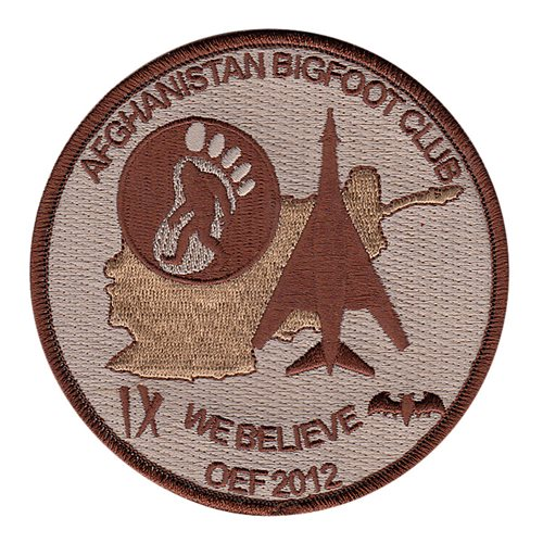 9 BS Bigfoot Patch