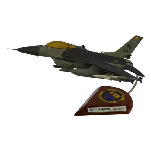 16 WPS F-16CM Custom Aircraft Model