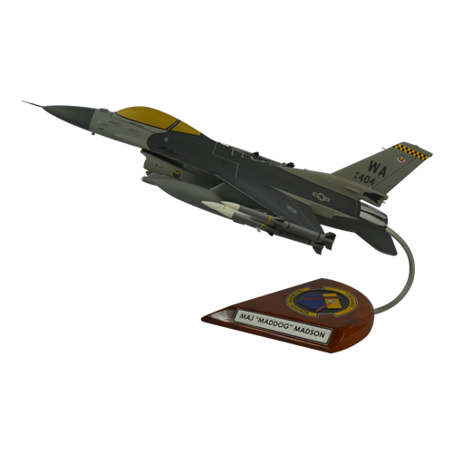16 WPS F-16CM Custom Aircraft Model  - View 2