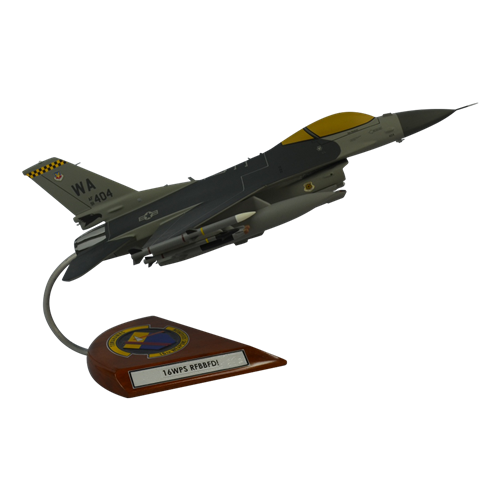 16 WPS F-16CM Custom Aircraft Model  - View 4