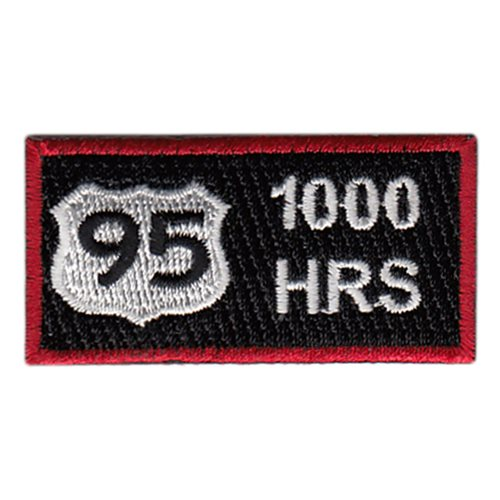 432 OSS 1000 Hours Pencil Patch