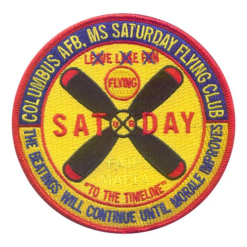 Columbus Saturday Fly Patch