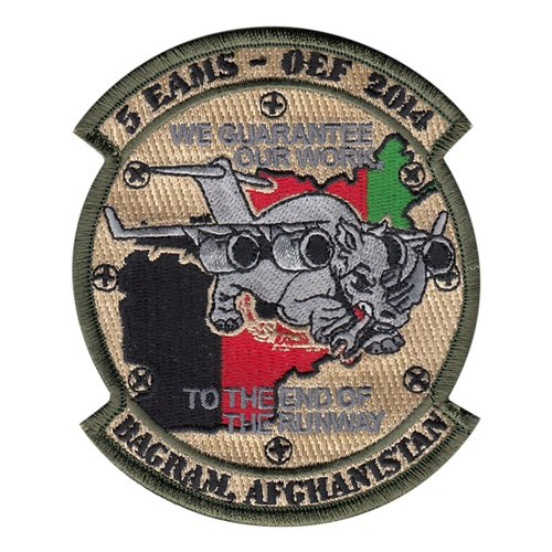 5 EAMS Rhino Patch