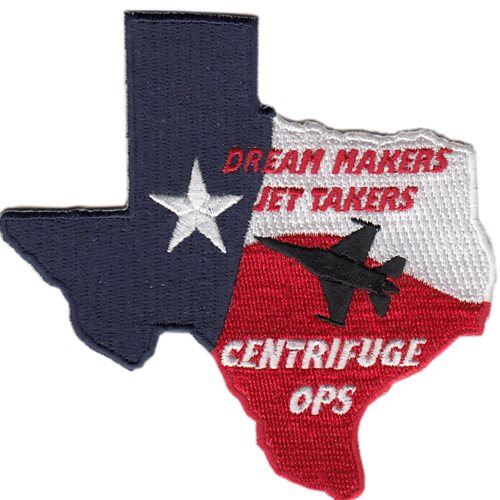 Centrifuge Dream Makers Jet Takers Patch