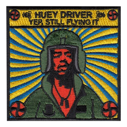 1 HS Hendrix Huey Patch