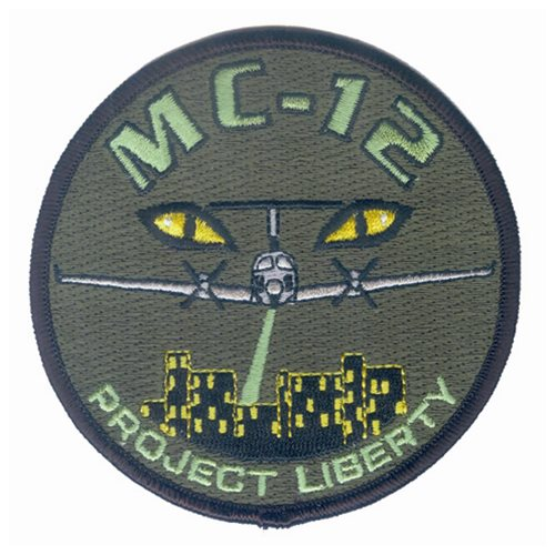MC-12 Project Liberty Subdued Patch
