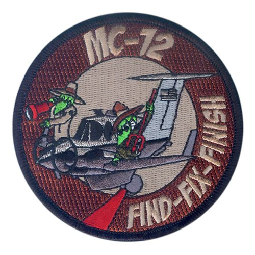 MC-12 Find-Fix-Finish Patch