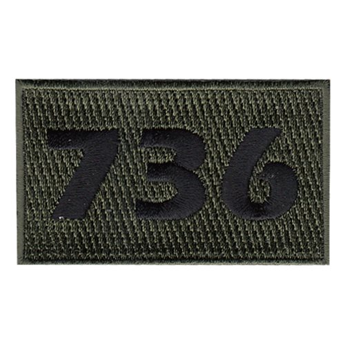 736 SFS Olive Drab Pencil Patch