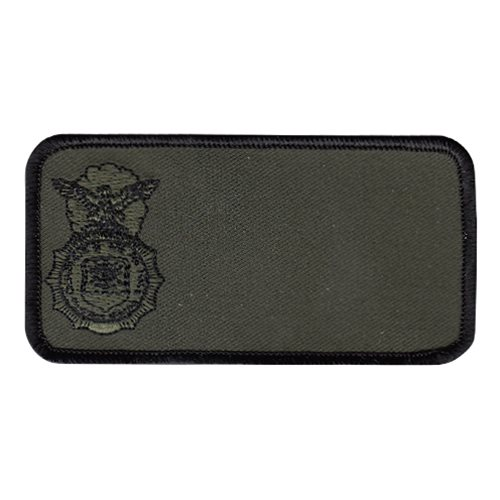 736 SFS Olive Drab Nametag Patch