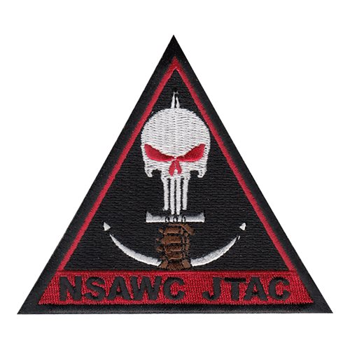 NSAWC JTAC Punisher Patch