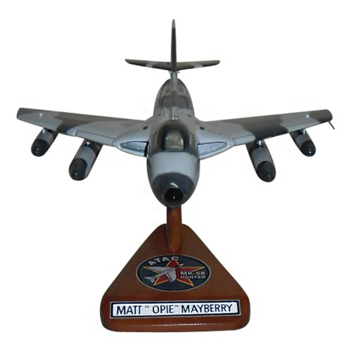 ATAC MK-58 Hawker Hunter Custom Airplane Model  - View 3