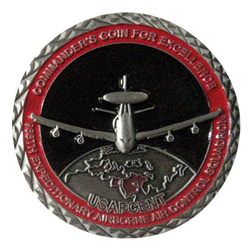 968 EAACS Commander Challenge Coin - View 2