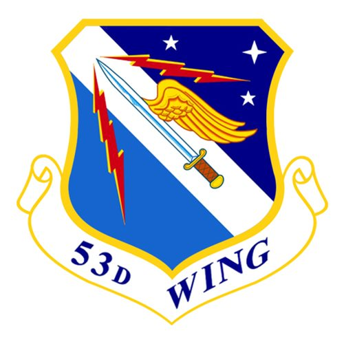 53 WG F-15C Airplane Tail Flash