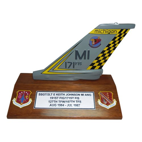 171 FIS F-16 Airplane Tail Flash