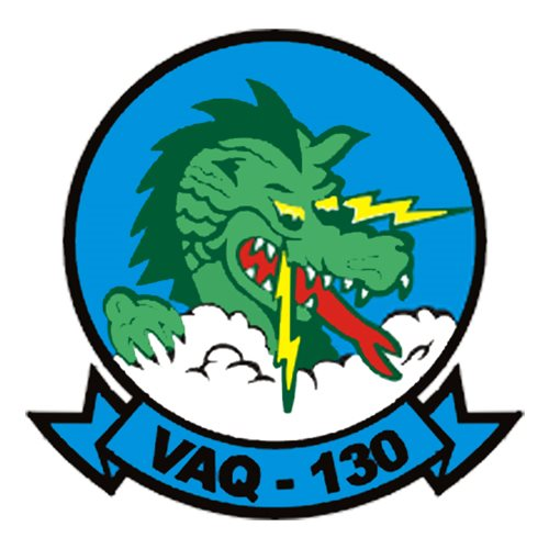 VAQ-130 EA-6B Airplane Tail Flash