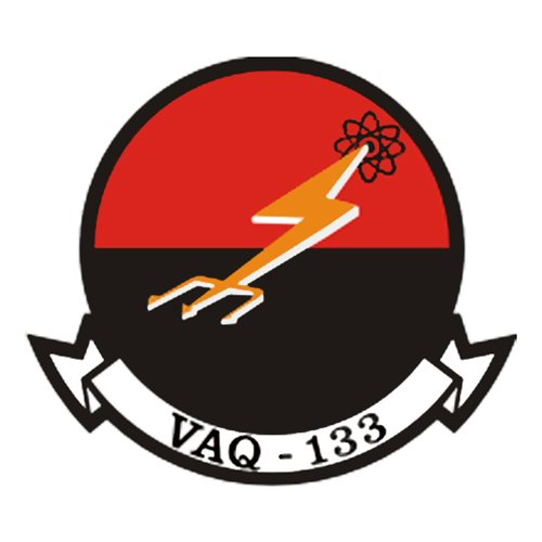 VAQ-133 EA-6B Airplane Tail Flash