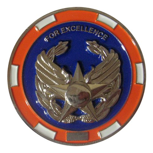 18 RS Commander Challenge Coin  - View 2