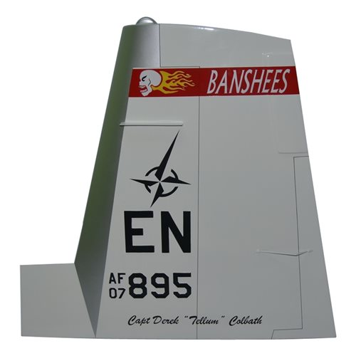 89 FTS T-6 Airplane Tail Flash