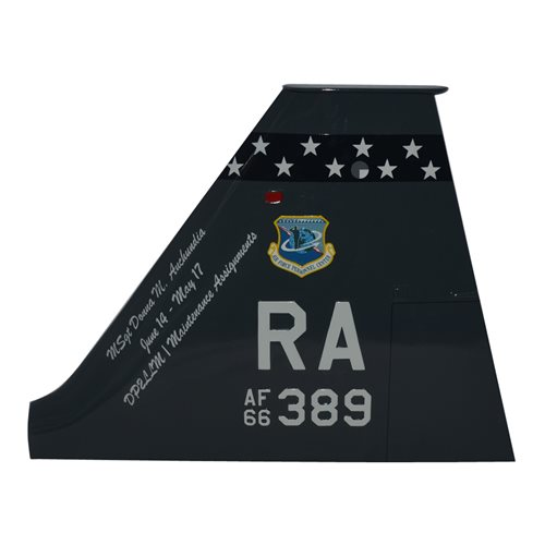 560 FTS T-38 Airplane Tail Flash - View 2