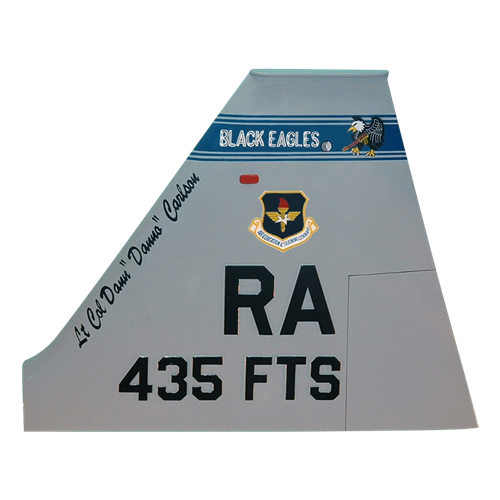 435 FTS T-38 Airplane Tail Flash