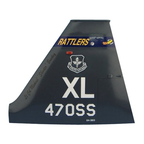47 OSS T-38 Airplane Tail Flash