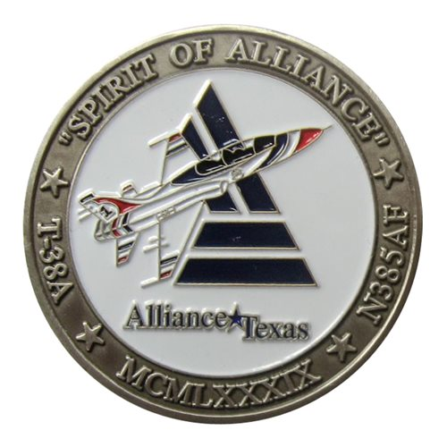Spirit of Alliance Silver Challenge Coins