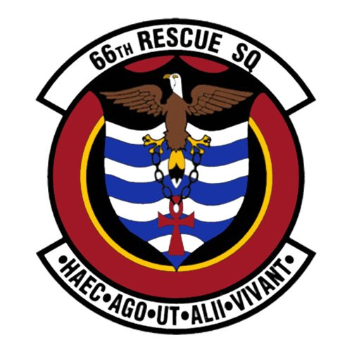 66 RQS HH-60 Helicopter Tail Flash