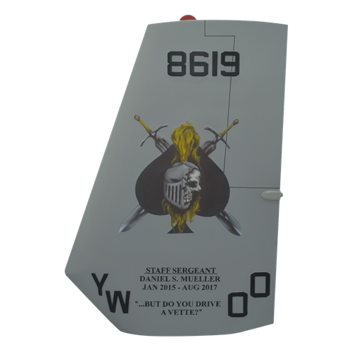 VMM-165 MV-22 Custom Airplane Tail Flash - View 2