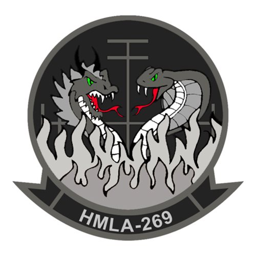 HMLA-269 AH-1W SuperCobra  Custom Airplane Tail Flash