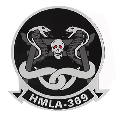 HMLA-369 AH-1Z Viper Custom Airplane Tail Flash