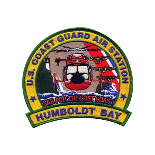 CGAS Humboldt Bay MH-65D Airplane Tail Flash