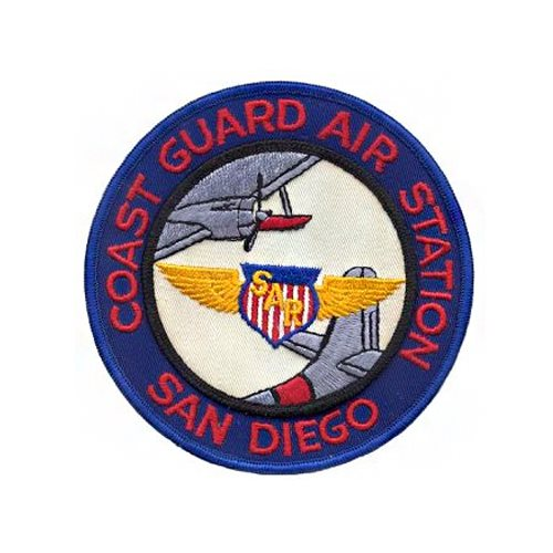 CGAS San Diego MH-60 Helicopter Tail Flash