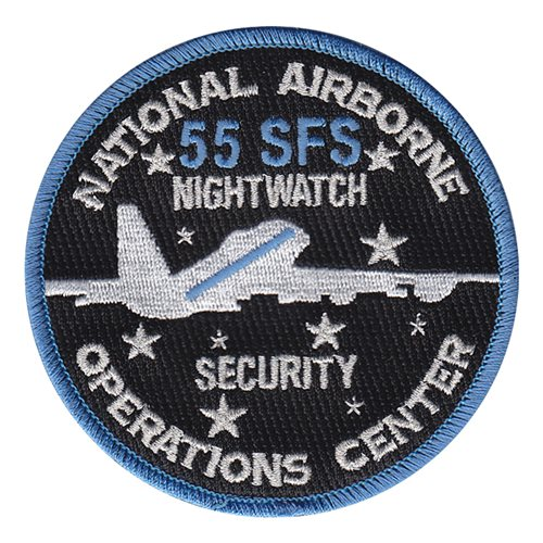 55 Sfs Naoc Patch 55th Security Forces Squadron Patch