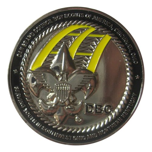 BSA Dan Beard 2013 Custom Air Force Challenge Coin - View 2