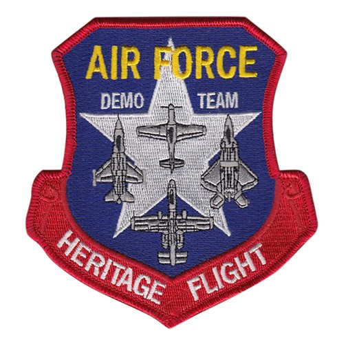 Air Force Heritage Flight A-10 Patch