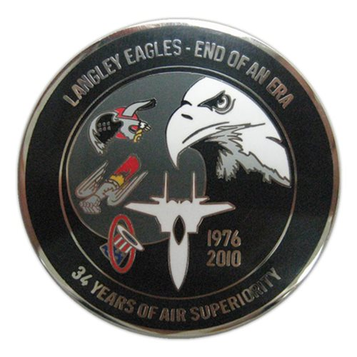 71 FS Coin Custom Air Force Challenge Coin - View 2
