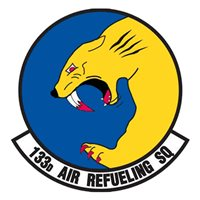 133 ARS KC-135 Airplane Tail Flash