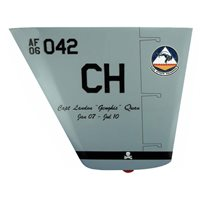 42 ATKS MQ-9 Reaper Custom Airplane Tail Flash