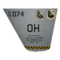 703 AESG MQ-9 Reaper Custom Airplane Tail Flash