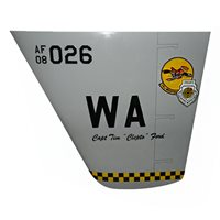 26 WPS PILOT MQ-9 Reaper Custom Airplane Tail Flash