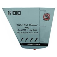 Reaper AMU MQ-9 Reaper Custom Airplane Tail Flash