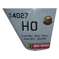 29 ATKS MQ-9 Reaper Custom Airplane Tail Flash