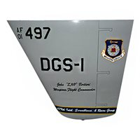 497 ISRG MQ-9 Reaper Custom Airplane Tail Flash